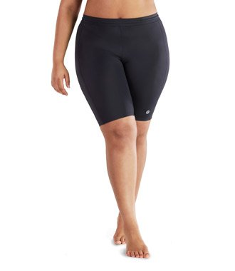 AquaCurve Plus Size Swim Shorts