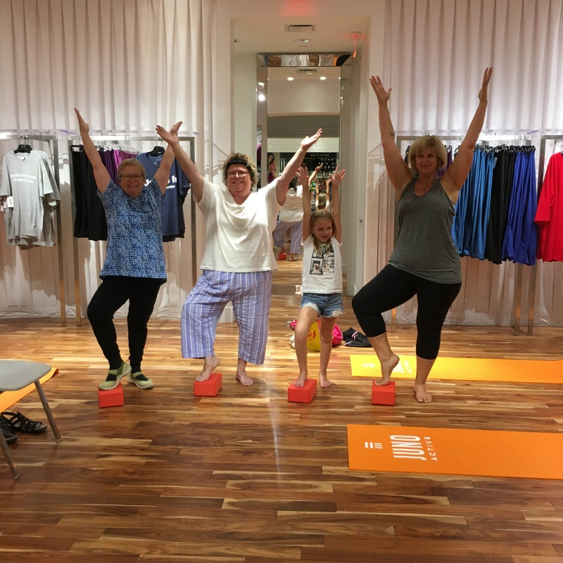 Plus Size Body Positive Yoga Minneapolis Mall of America