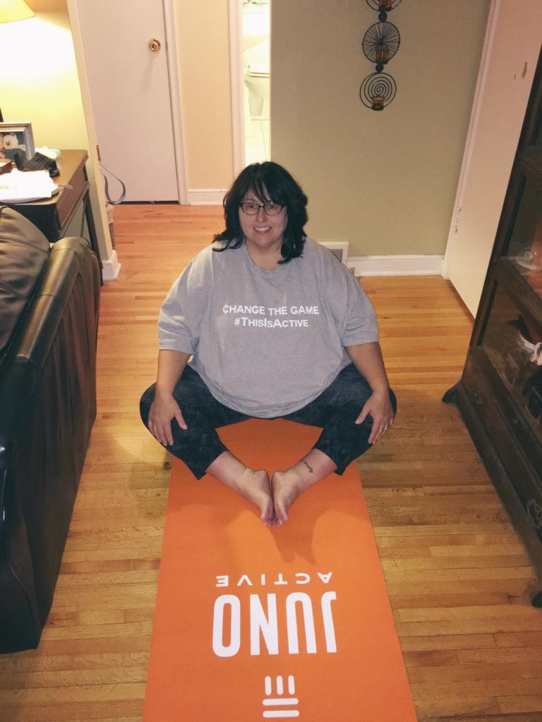 JunoActive Plus Size Yoga Capris