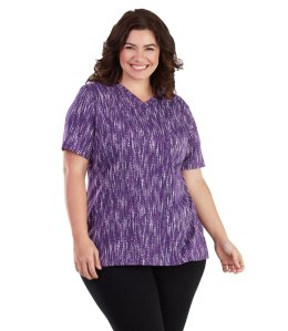 SN plus size top