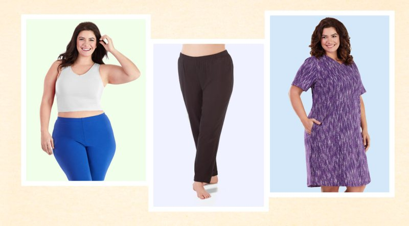 image of Plus size cotton clothing by JunoActive